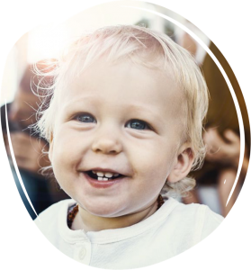 детско усмихнато лице