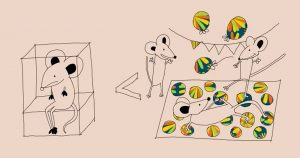 Рисунка, която илюстрира, ползата играта и социализация